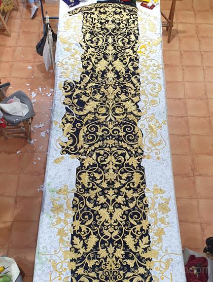 Manto Hdad. de Nuestro Padre Jesús Nazareno de Huelva