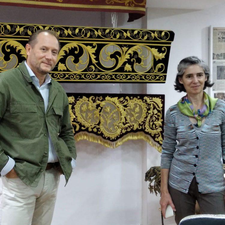 con Blanca Muñoz