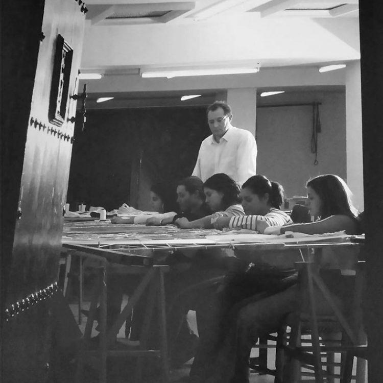 Comienzos del taller Jesus Rosado